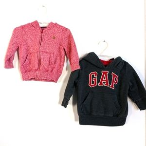 Set of two Gap hoodies